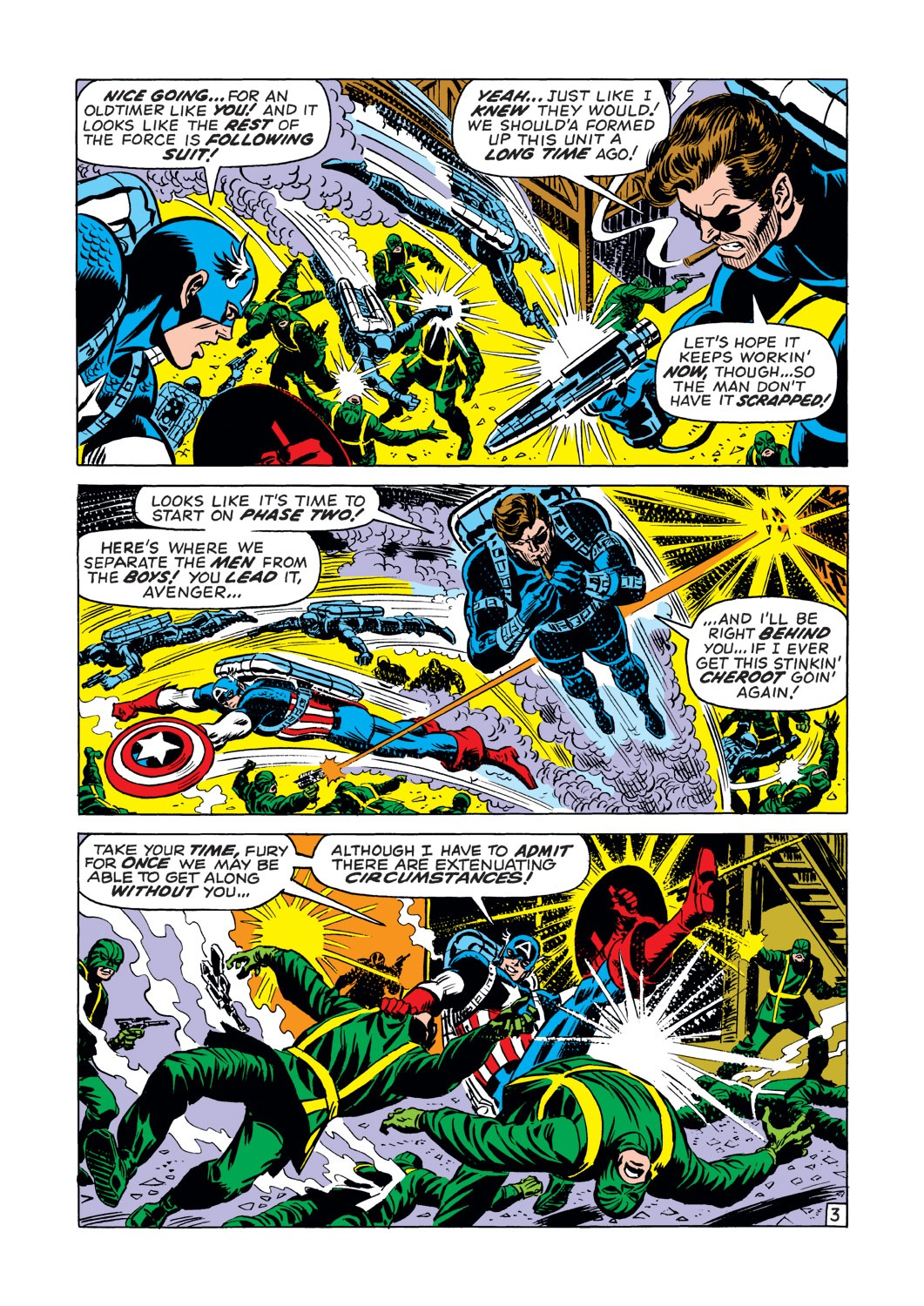 Captain America (1968) Issue #144 #58 - English 4