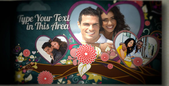 VideoHive Tree of Love Book