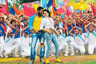 Sonakshi gave her song with prabhu deva a best song matki phod re