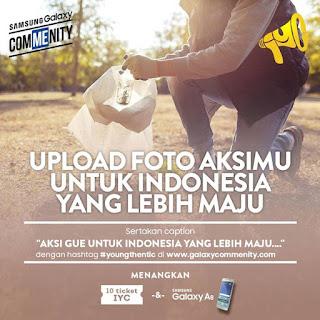 Share Foto Aksi Berhadiah Samsung Galaxy A8