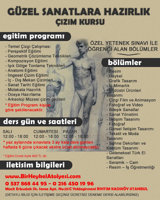 Güzel Sanatlara Hazırlık Kursu / Kadıköy