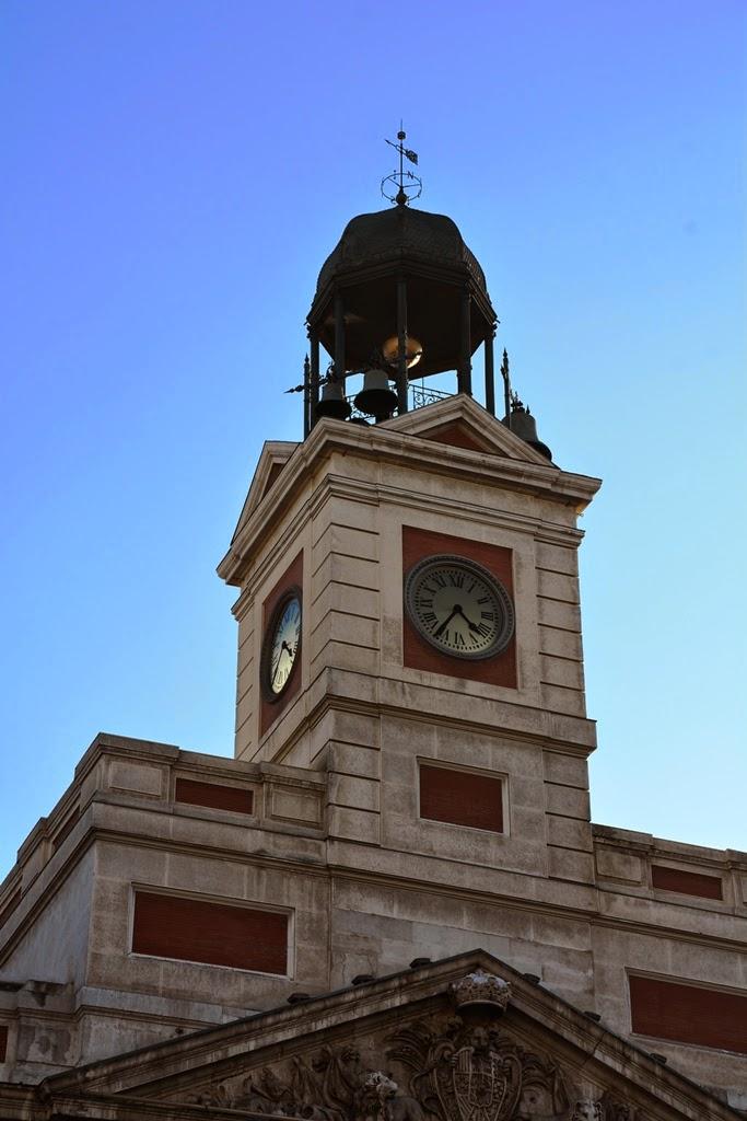 Puerta del Sol Madrid Post Office