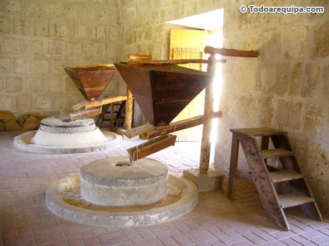 Turismo arequipa la eterna cuidad blanca per folkl rico - Molino de trigo ...