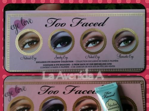 Paleta de sombras Eye Love de Too Faced