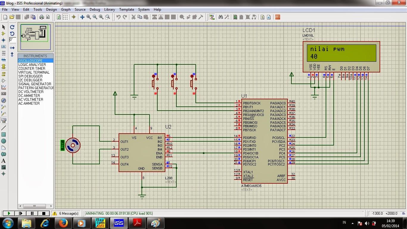 Cara Mengatur Kecepatan Motor Dc Dengan Mikrokontroler Control And Make Programmable Line Follower Robot Based Microcontroller Atmega8535