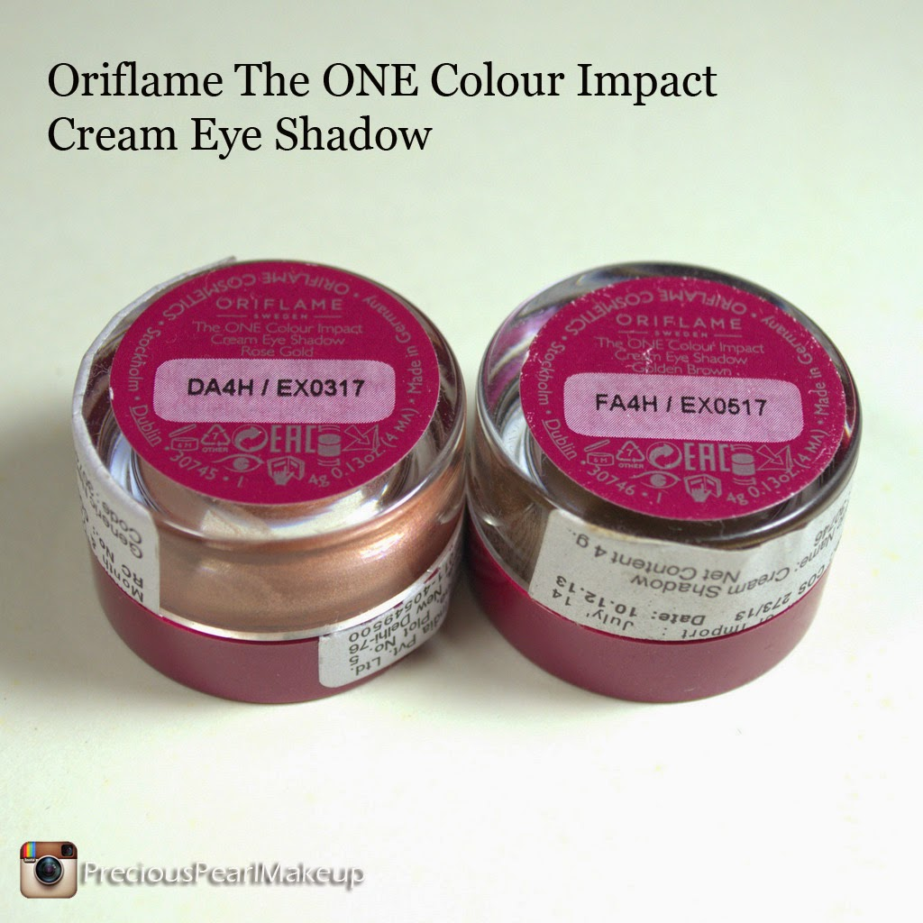 How To Apply An Eyeshadow Step By Step Tutorial The Oriflame One Color  Impact Cream Eye
