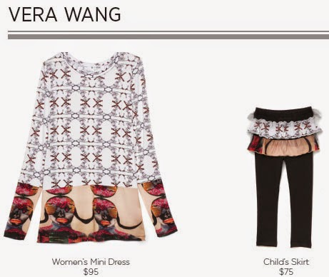 Vera Wang For Born Free Collection