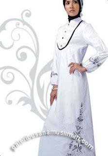 Desain Baju Gamis Muslimah