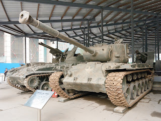 M26 Pershing Medium Tank at the Beijing Military Musuem
