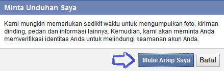 Cara Mendownload Data Pribadi di Facebook