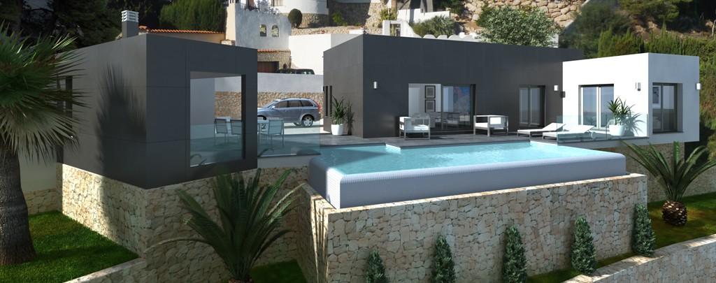 Modern New Builds in Benissa