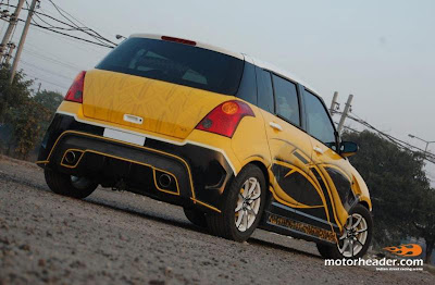 suzuki swift 2007 modifikasi