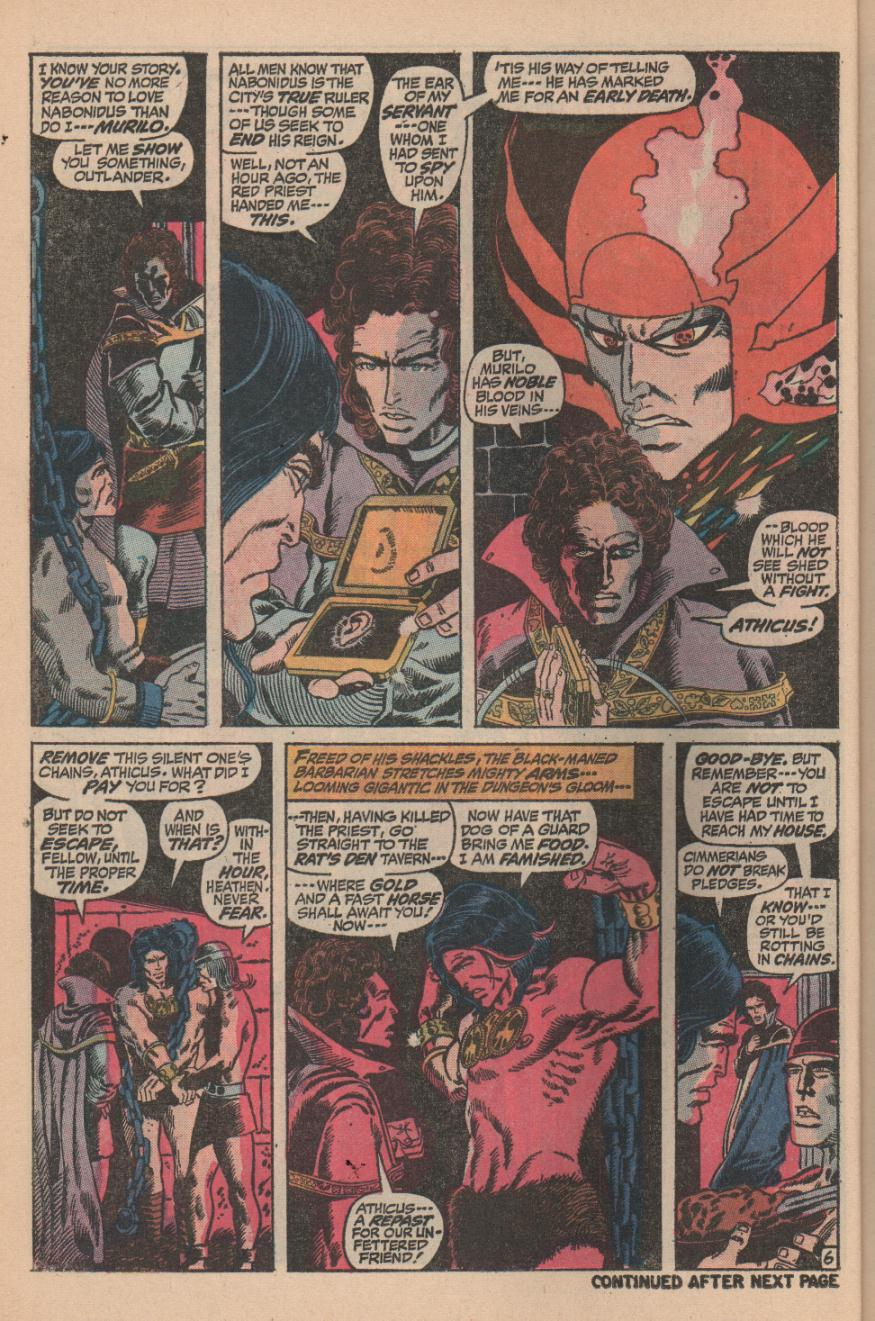 Conan the Barbarian (1970) Issue #11 #23 - English 8
