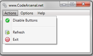 WPF Menu with Icons example
