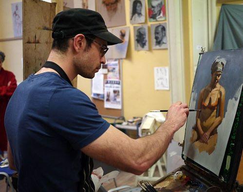 Conseils au sujet de la peinture l 39 huile technique directe yann hovadik 39 s fine art for Peindre sur la rouille