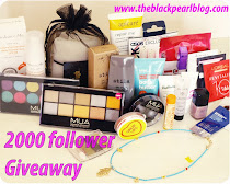 2000 follower giveaway - The Black Pearl Blog
