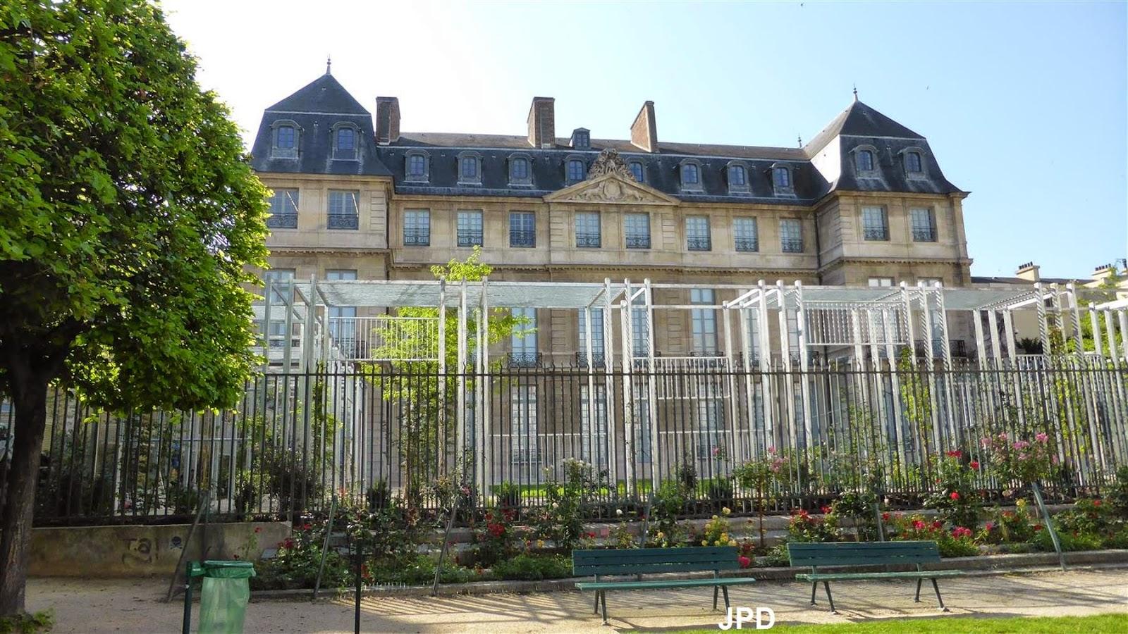 Jardin 41 rue du temple planche 299 l vation de la fa for Le jardin moghol 53 rue vieille du temple