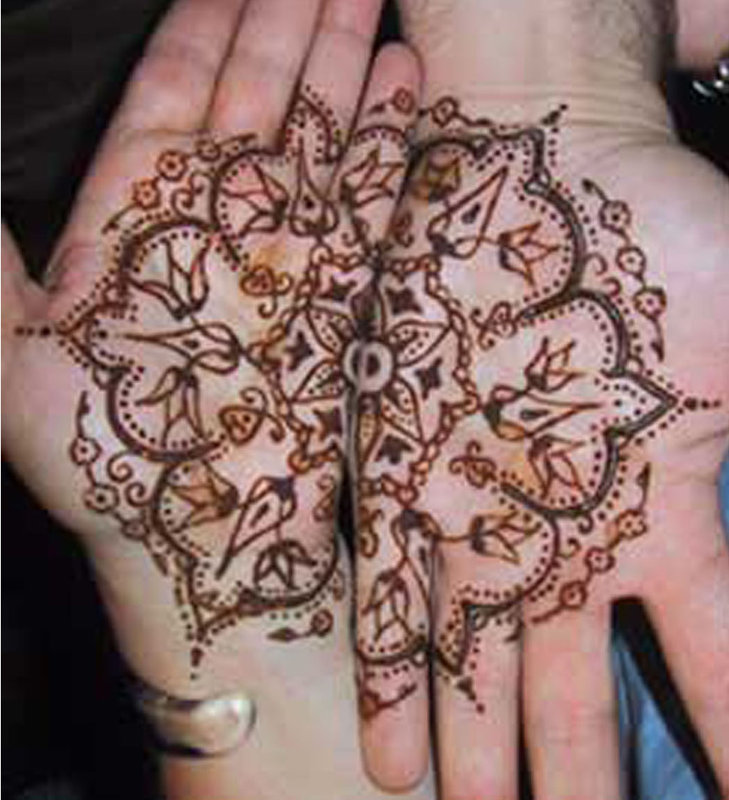 LOVE IN MY HEART Valentines Day Mehndi Design 2013 Best Mehndi