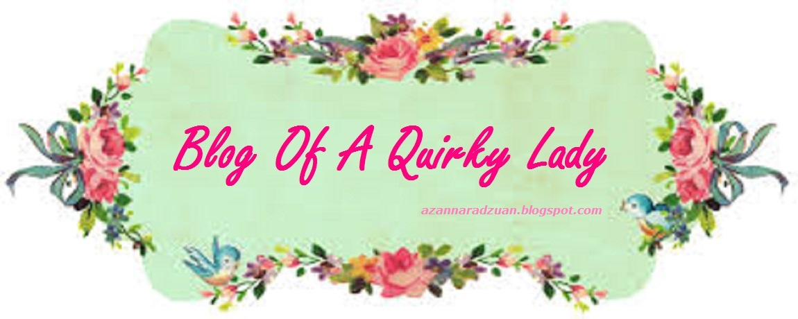 Blog of A Quirky Lady