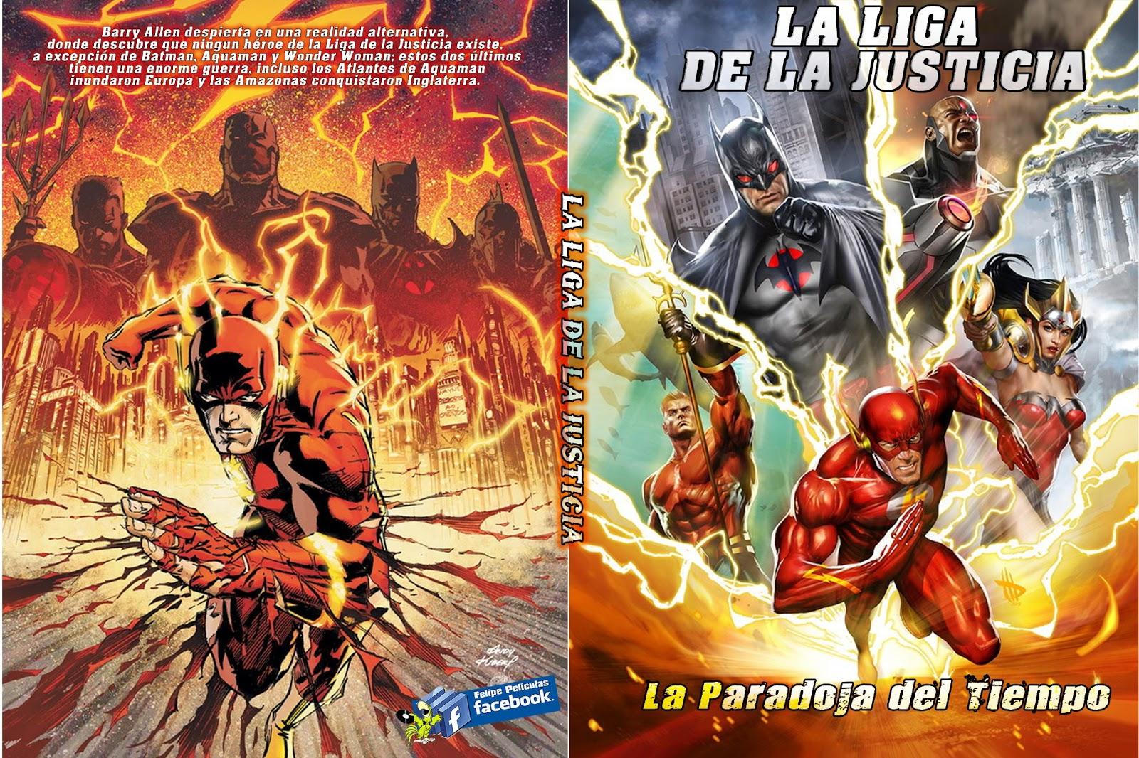 LA+LIGA+DE+LA+JUSTICIA+-+LA+PARADOJA+DEL+TIEMPO - [DCU-52] Liga de la Justicia: Paradoja del Tiempo[AVI][Latino][Mega] - Descargas en general