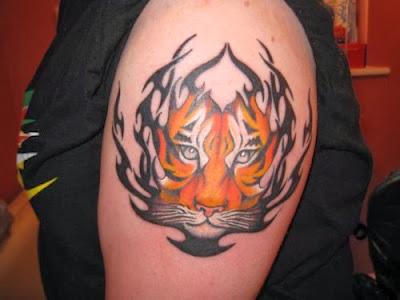Tatuagens Femininas de Tigre