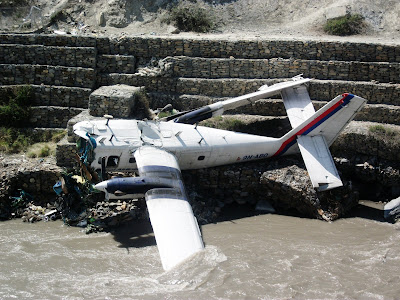 Accident, Crash, Nepal, Airlines, Twin Otter, Aircraft, River, Police, Accident, Kathmandu, Japanese, Tourist, Japan,