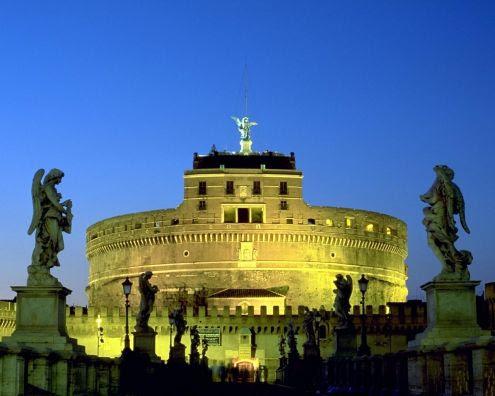 A spasso per Roma con i vostri Bambini nelle Notti d'Estate - VISITA NOTTURNA DI CASTEL ST ANGELO - visita guidata per bambini a Roma