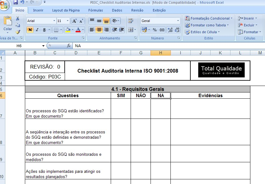 5s audit checklist template .