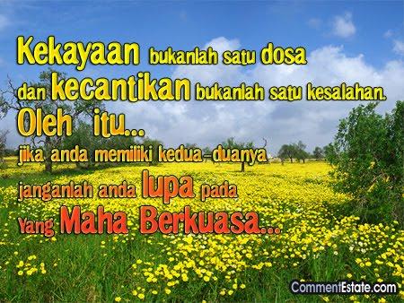 GEOGRAFI TINGKATAN 1: Kata-kata Hikmah :-)