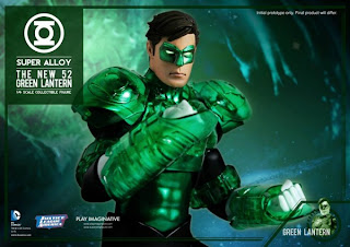 "Play Imaginative 1/6 Scale Super Alloy DC Comics New 52 Green Lantern 12"" Figure"