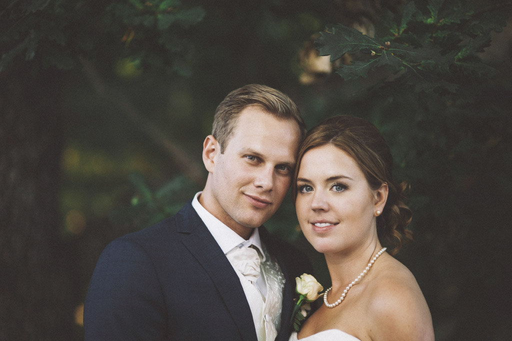 Hanna och Peter bröllopsfoto