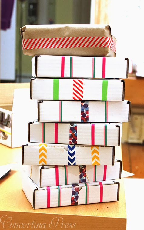pile of washi tape packages