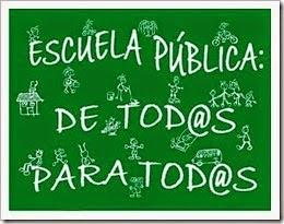 EDUCACIÓN PUBLICA DE TOD@S Y PARA TOD@S