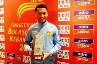 pemenang anugerah pemain paling bernilai MVP Khairul Azhan Khalid