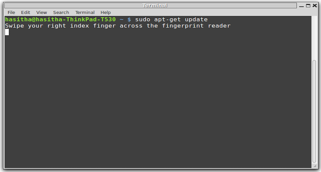 Here is how to get your fingerprint scanner working with linux mint Screenshot+from+2013-02-04+22:48:32