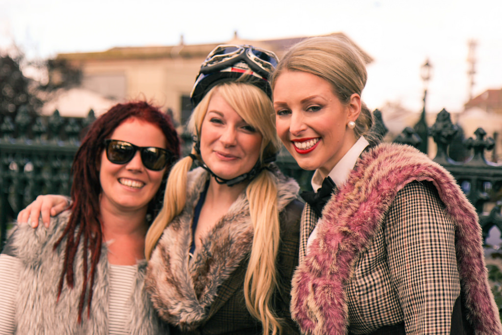 Ballarat Heritage Weekend - Tweed Ride 2014.