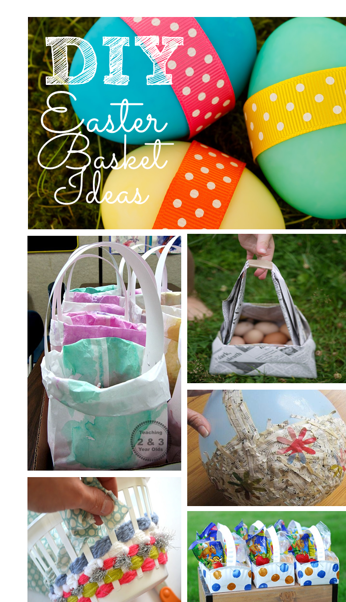 Preschool Ponderings DIY Easter Baskets For Preschool