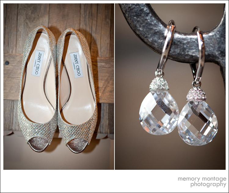 Suncadia Wedding Photo jimmy choo wedding shoes