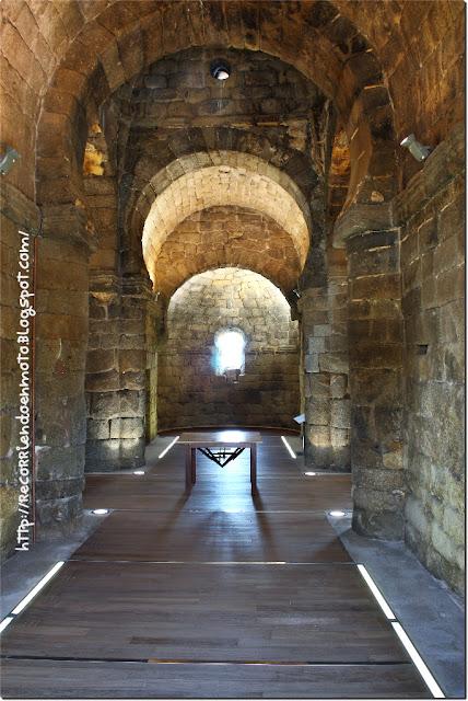 Interior Iglesia Sta. María de Melque