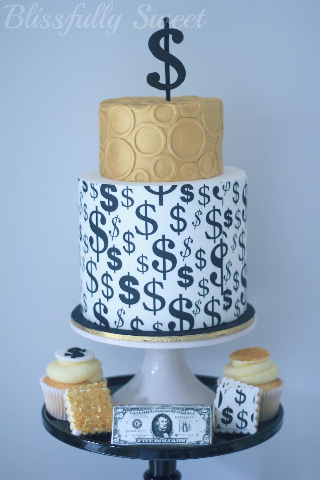 Blissfully sweet money money money themed cakes treats - Money cake decorations ...