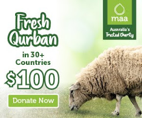 Qurbani With MAA Australia