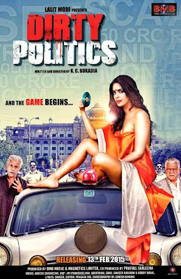 Dirty Politics 2015 Hindi DVDRip 700mb ESub