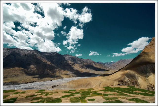 Enroute to Kibber, Himachal Pradesh, India