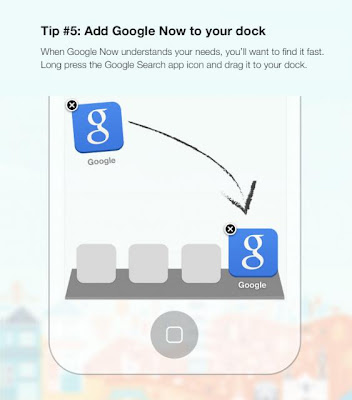 Google Tip 5 - Add Google Now To Your Dock