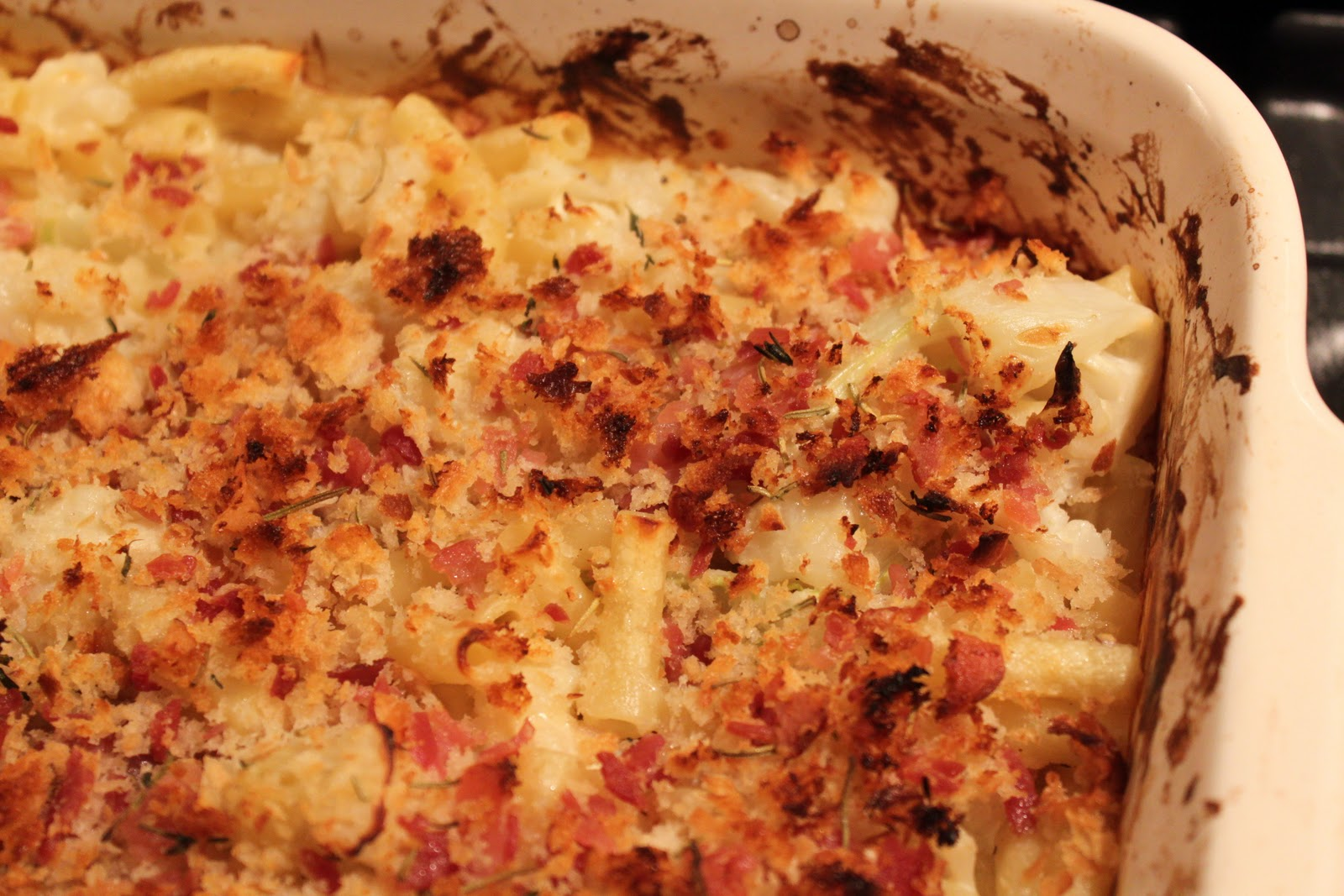 Dine At Mine Cauliflower Macaroni Cheese