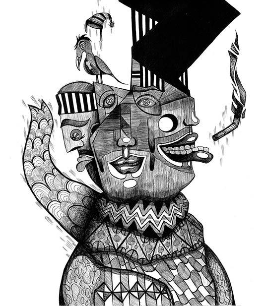 Ilustración, Zoomorfa de Giovanny Ortiz Jiménez
