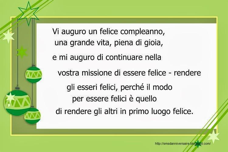 Texte Anniversaire Italien Spaxdesign