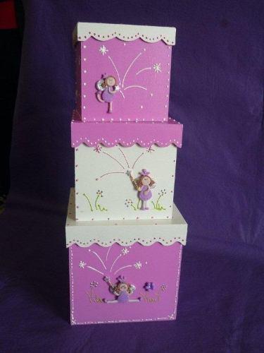 Dolce paola souvenirs cajitas decoradas ideales para souvenirs - Cajas infantiles decoradas ...
