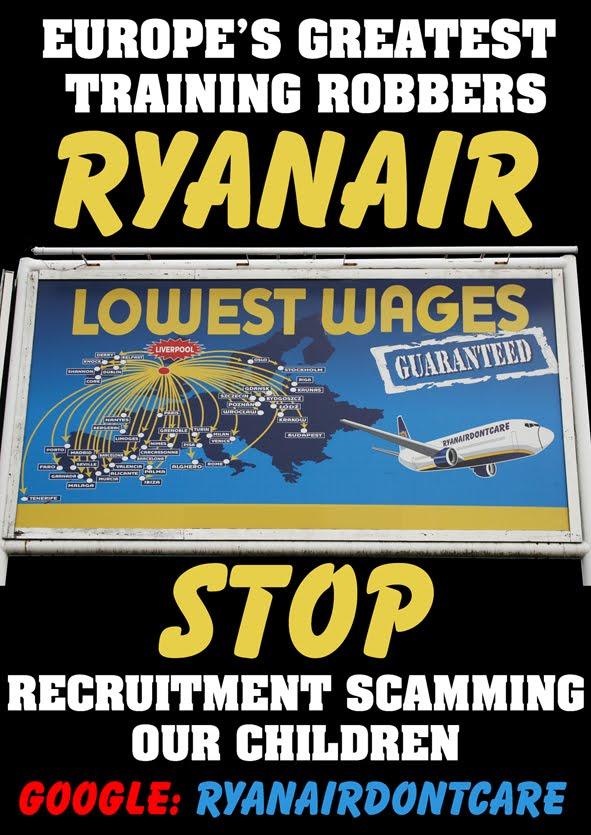 Ryanairdontcare Campaign.