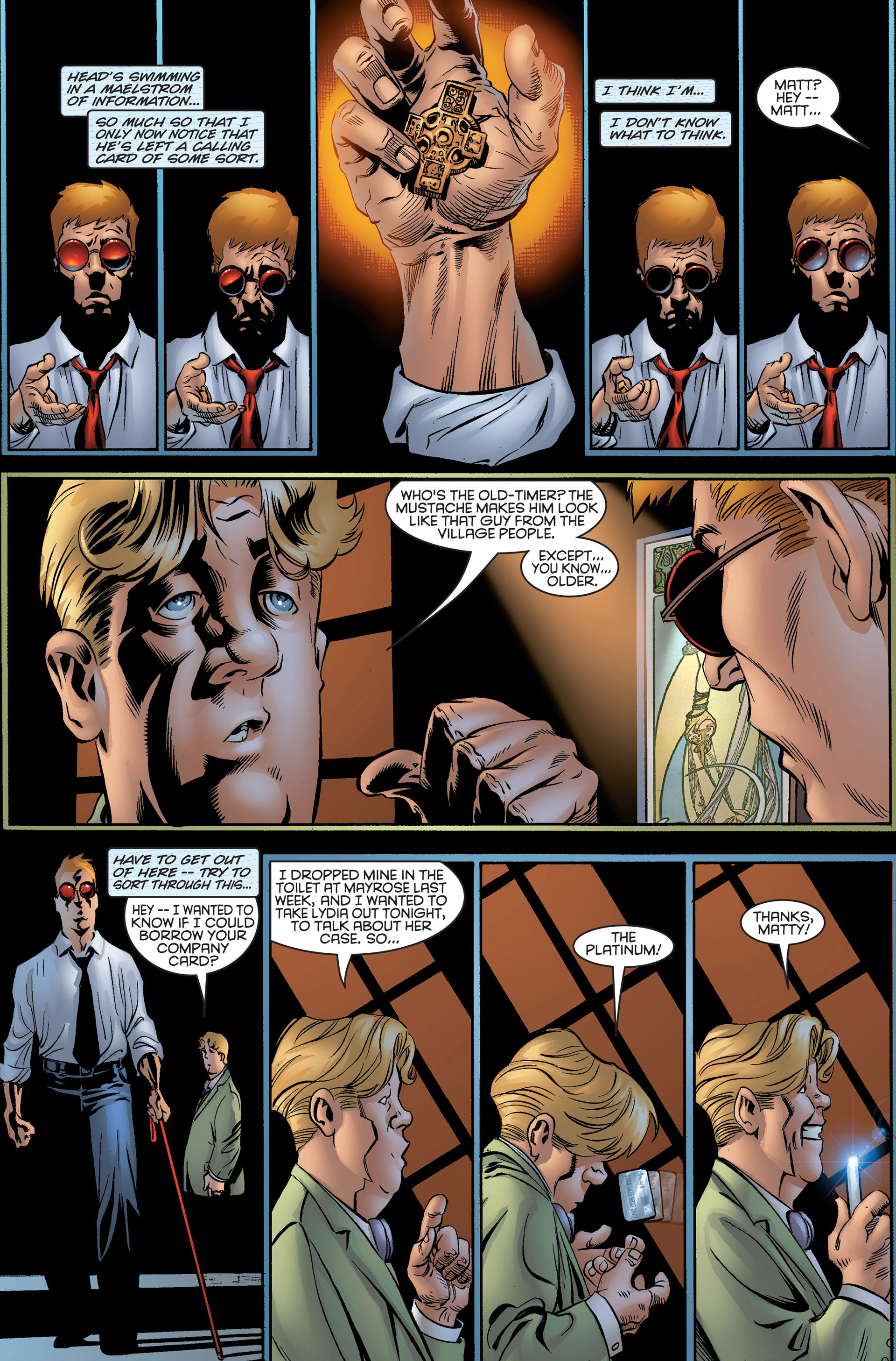 Read online Daredevil (1998) comic -  Issue #2 - 12
